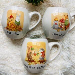 Rae Dunn fall mugs